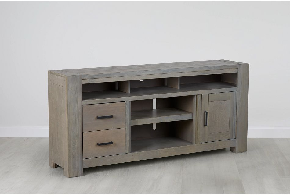 "Empire Gray 72"" Tv Stand"