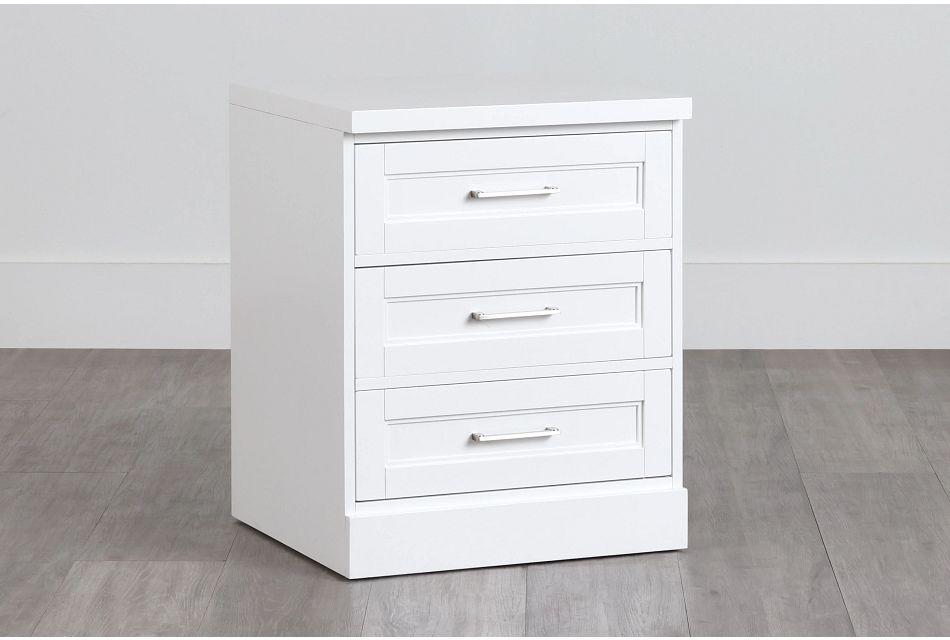 Newport White Drawer Cabinet,  (0)