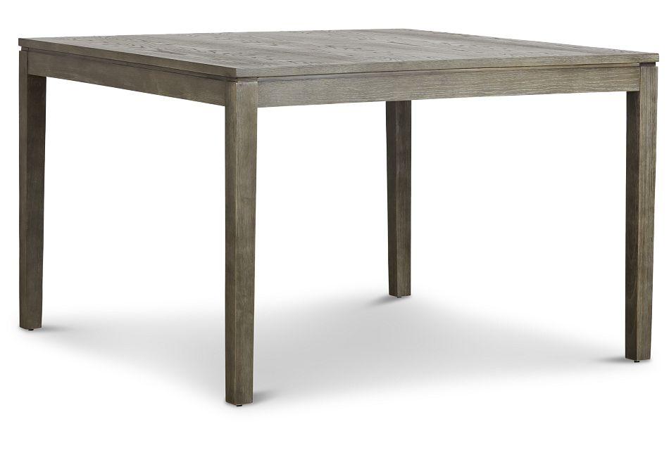 Bravo Dark Tone Square High Dining Table,  (2)