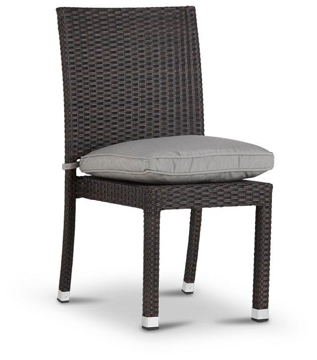 Zen Gray Side Chair (2)