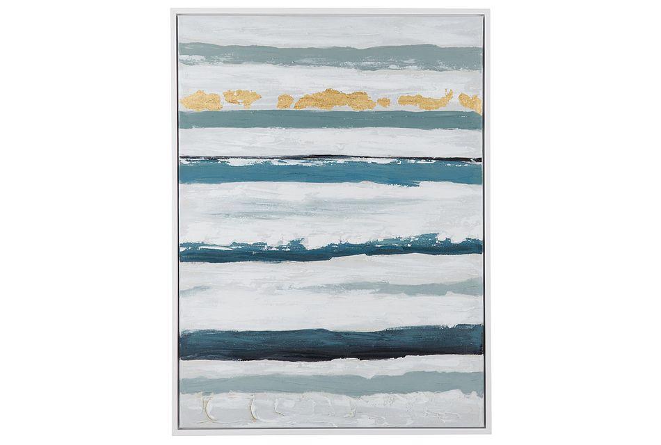 Kendra Blue Framed Wall Art