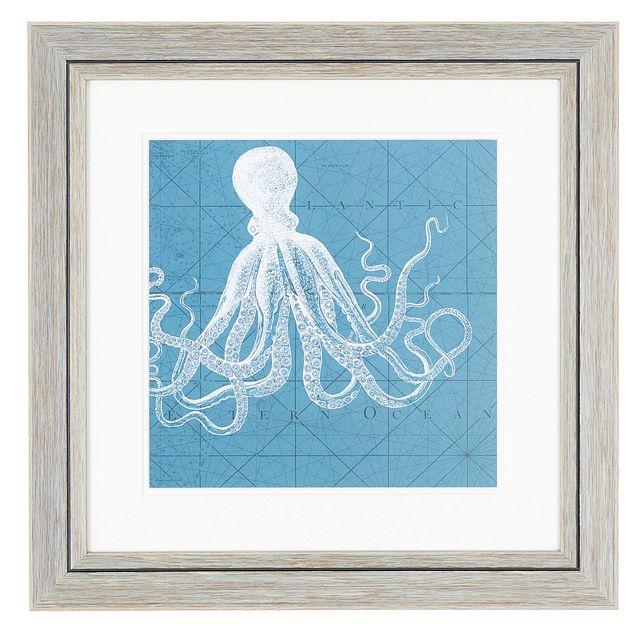 Octet Blue Framed Wall Art (0)