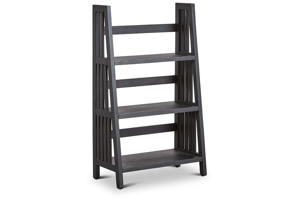 Harrison Black Wood Ladder,