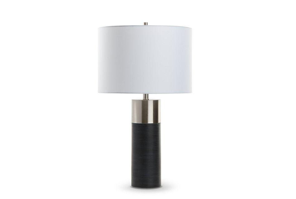 Daxton Black  Table Lamp,