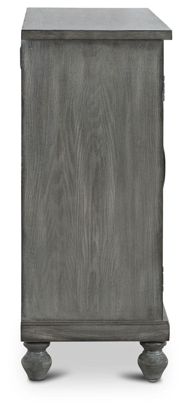 Ash Gray Four-door Cabinet (3)