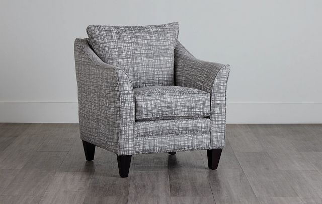 Hugo Gray Fabric Accent Chair (0)