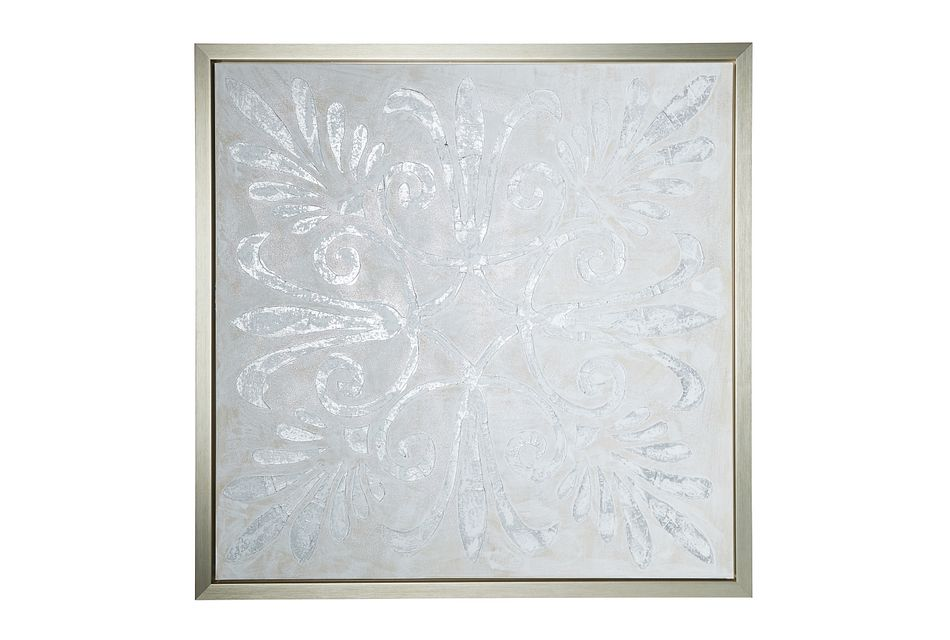 Sophy Silver Framed Wall Art