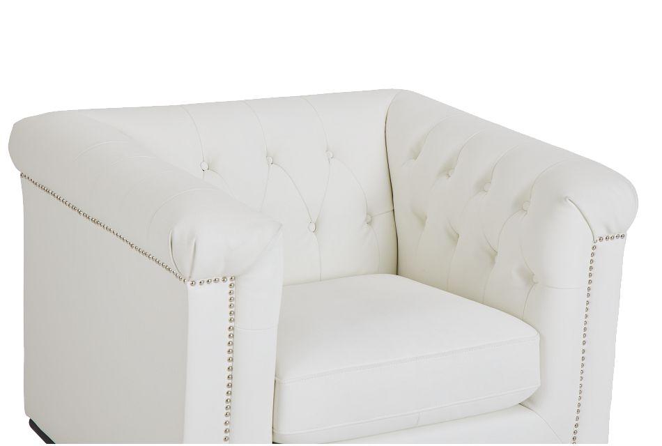 Blair White Micro Chair
