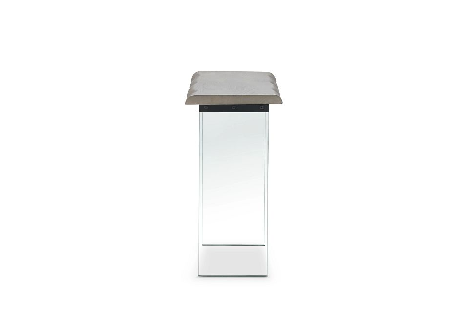 Carmel Gray Wood Console Table