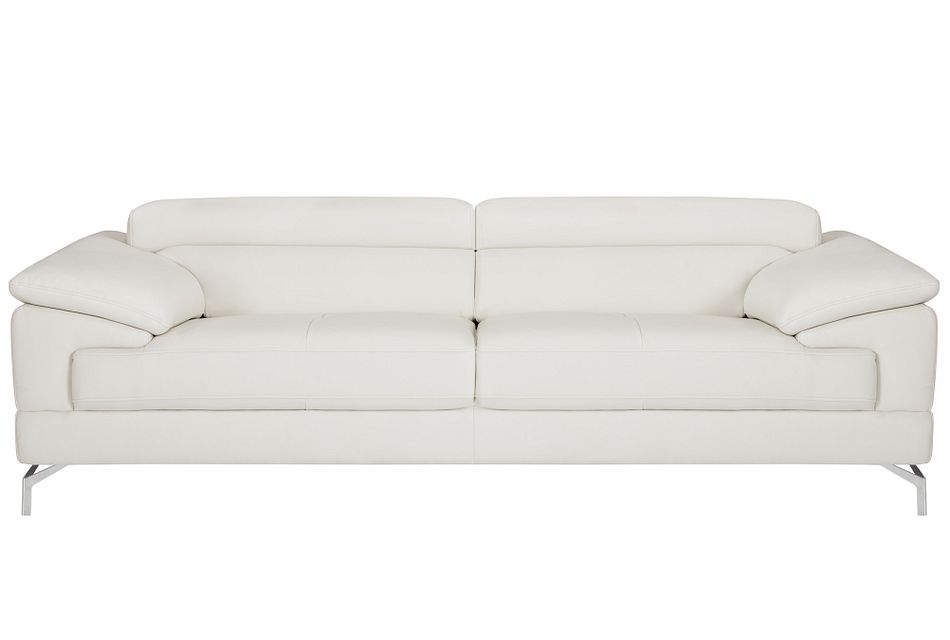 Dash White Micro Sofa