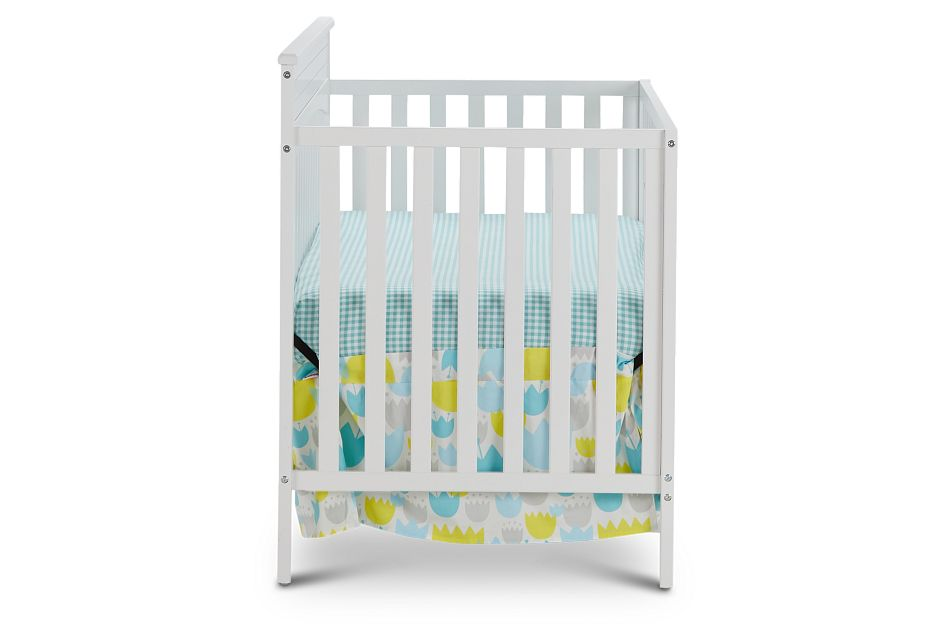Parker White 4-In-1 Crib, %%bed_Size%% (2)