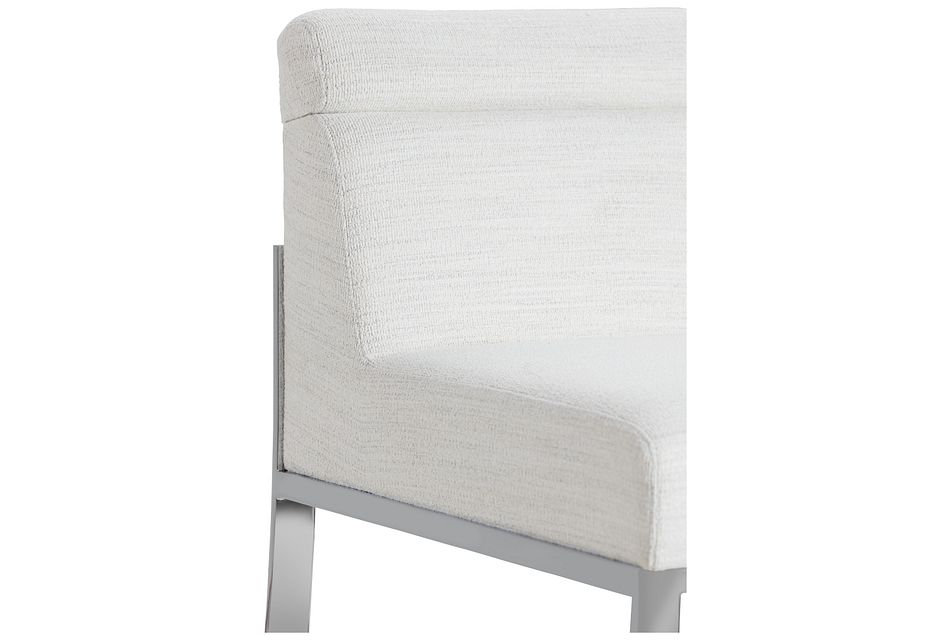 """Ocean Drive Whitemetal 30"""" Upholstered Barstool"""