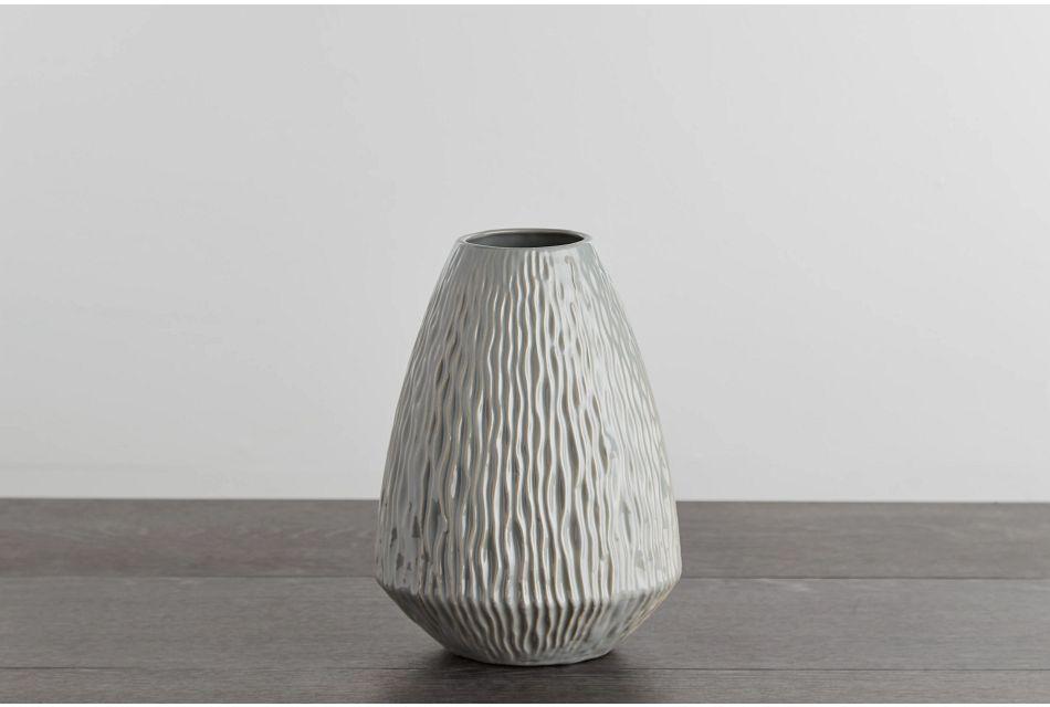 Lyra Small Gray Vase