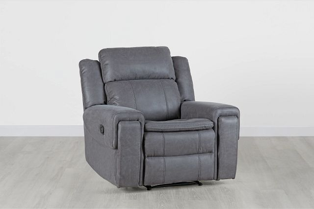 Scout Gray Micro Recliner (0)