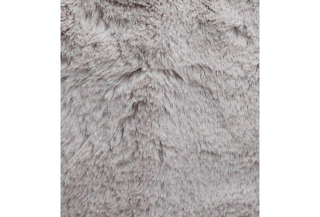 "Kaycee Light Gray 18"" Accent Pillow"