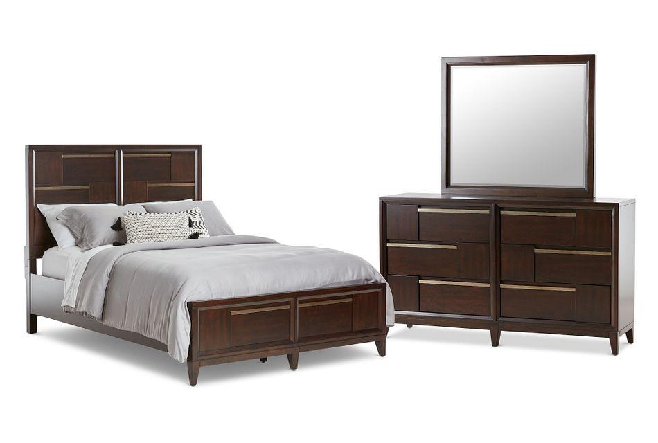 Sedona Dark Tone Panel Storage Bedroom