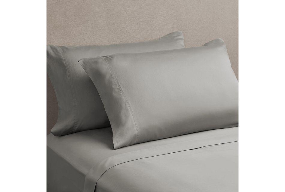 Egyptian Cotton Gray 400 Thread Sheet Set, Queen (0)