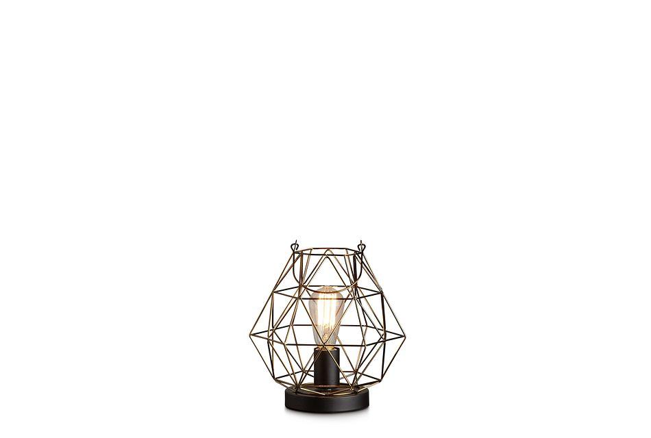 Archer Black Table Lamp