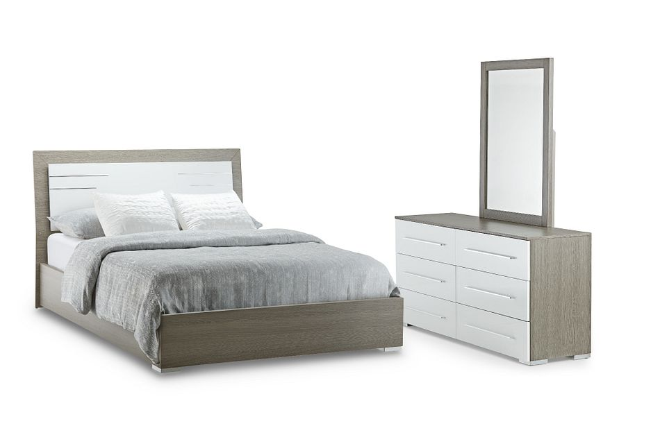 Sofia Two-tone Panel Panel Bedroom