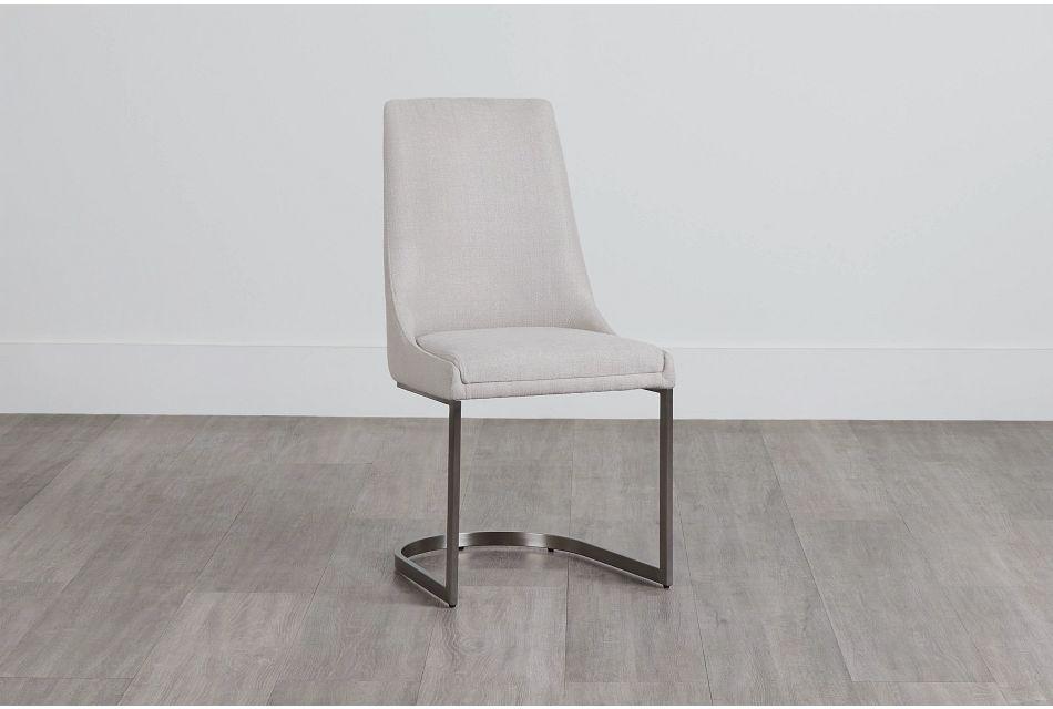 Madden Light Tone Upholstered Side Chair,  (0)
