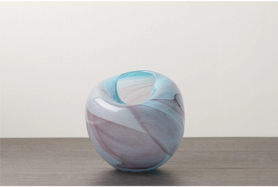 Aria Purple Vase
