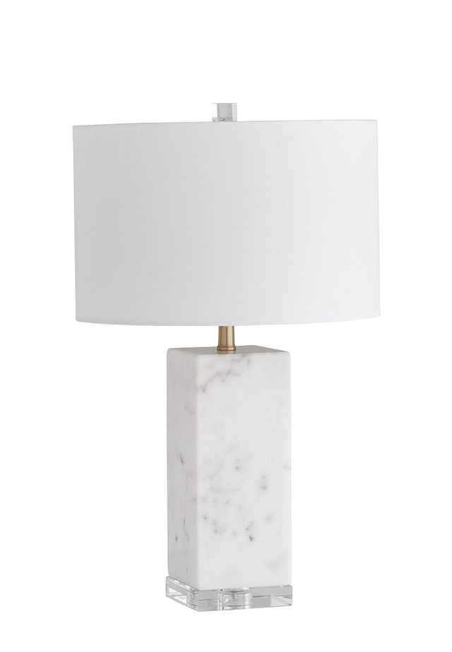 Simply White Table Lamp (2)