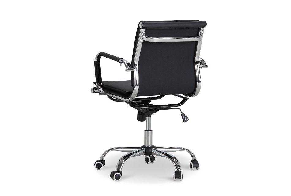 Denver Black Uph Desk Chair
