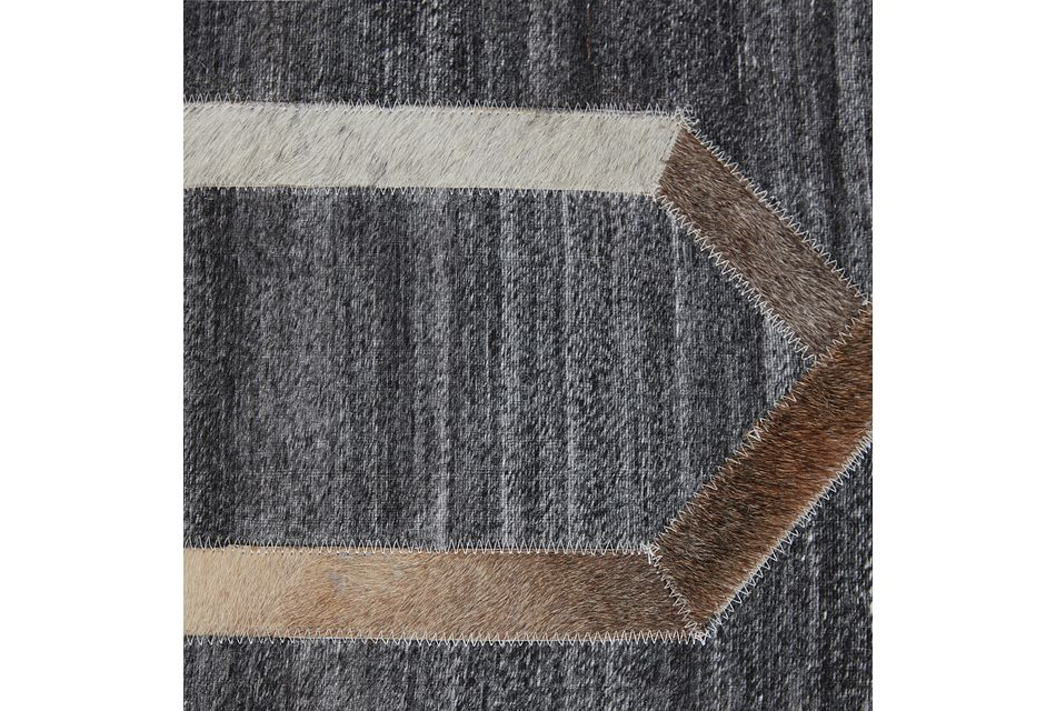 Alloy Dark Gray 8x10 Area Rug