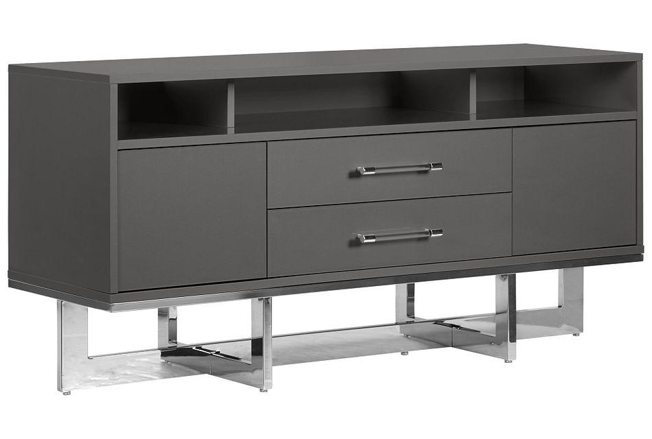 Cortina Gray Tv Stand