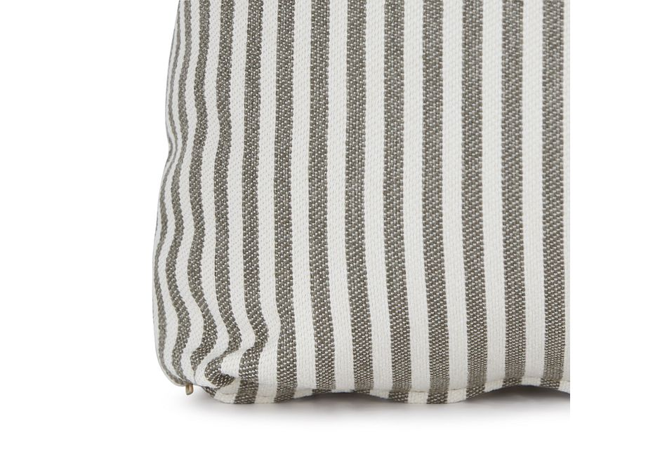 """Longboard Taupe 18"""" Square Accent Pillow,  (1)"""