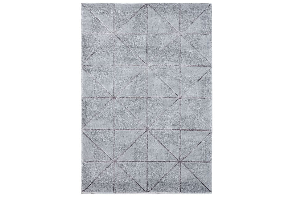 Ambiance Light Gray 8x10 Area Rug
