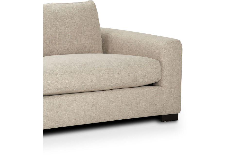 "Bohan 103"" Pewter Fabric Sofa"