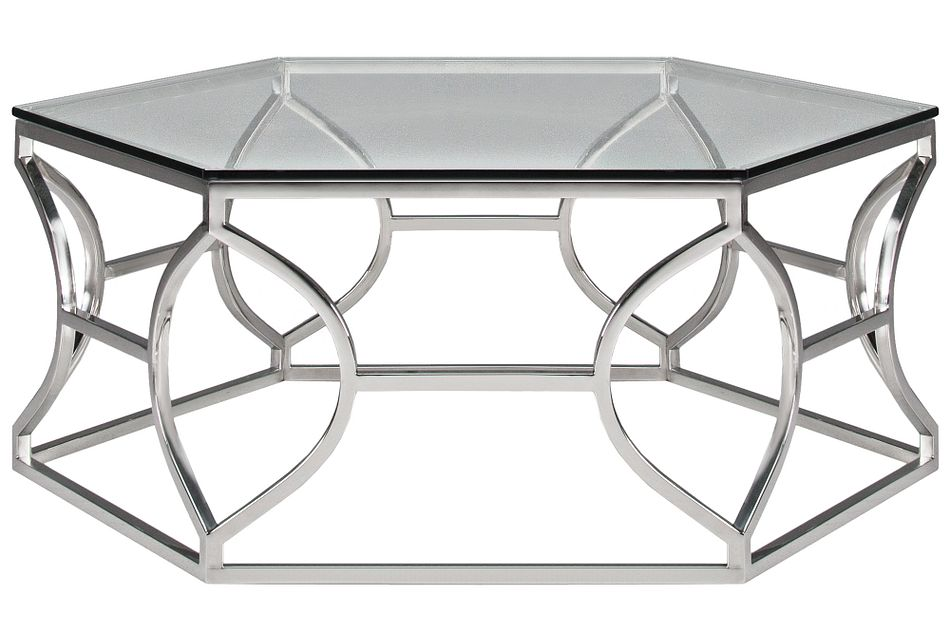 Argent Glass  Coffee Table