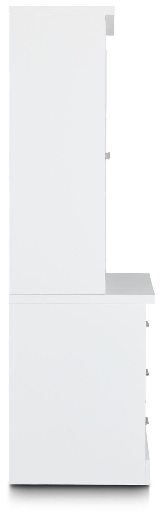 Newport White Drawer Bookcase (3)