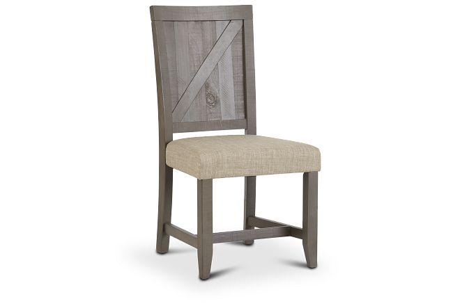 Taryn Gray Wood Side Chair