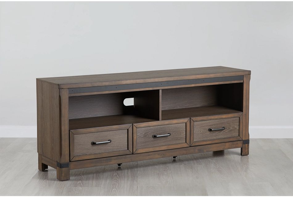 """Lancaster Mid Tone 66"""" Tv Stand"""