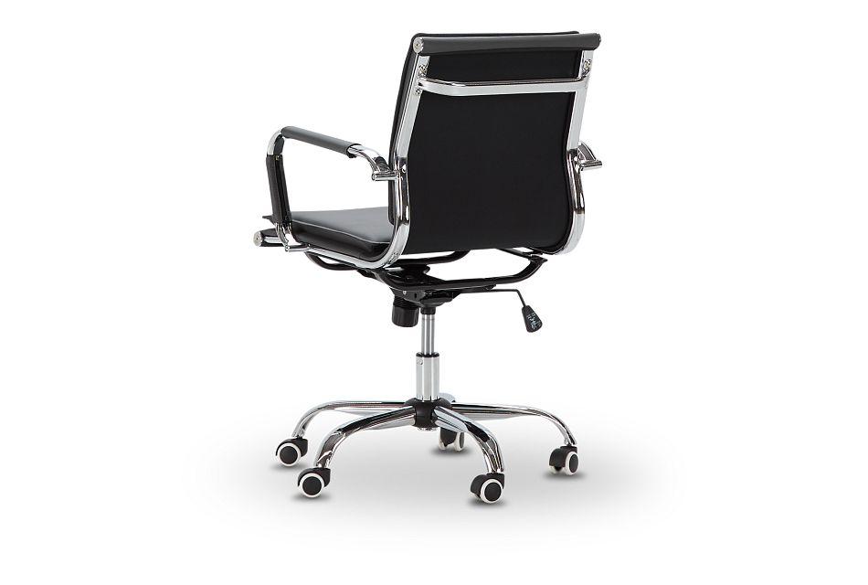 Denver Gray Uph Desk Chair