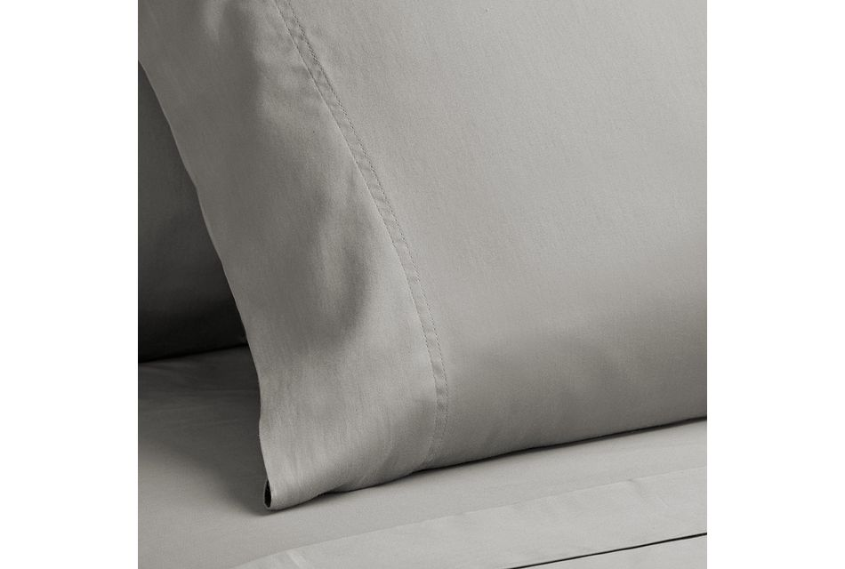 Egyptian Cotton Gray 400 Thread Sheet Set