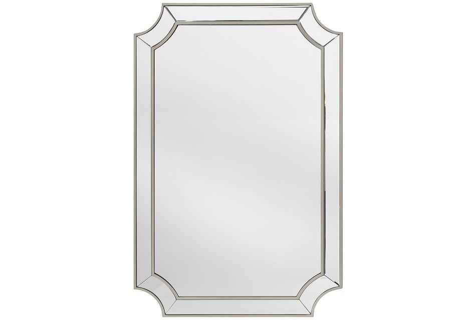 Mica Silver Mirror
