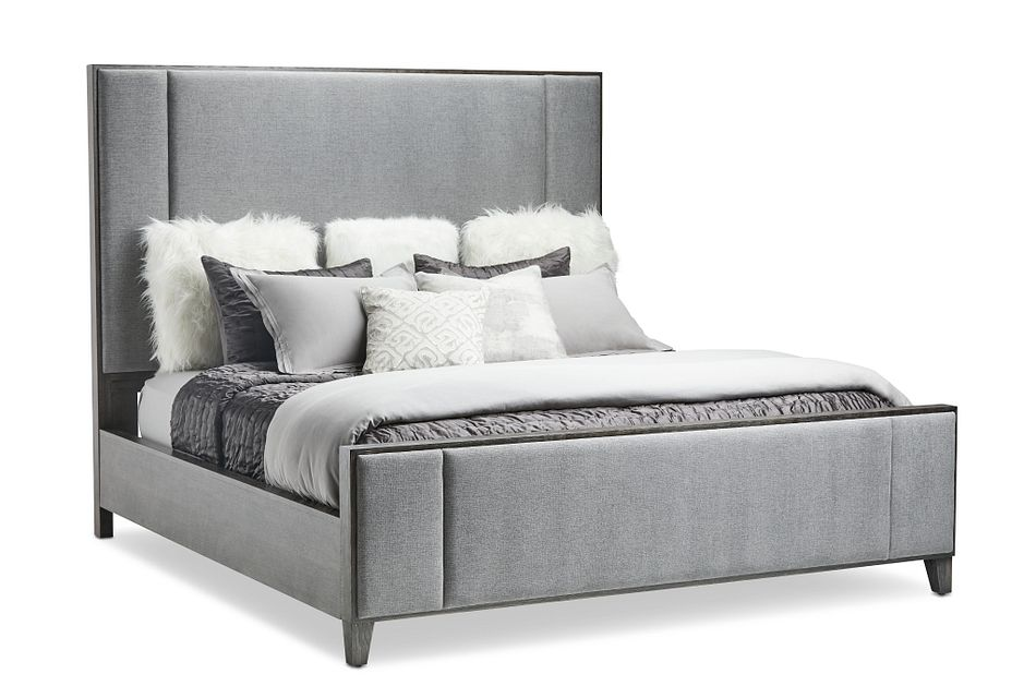 Linea Dark Tone Uph Platform Bedroom