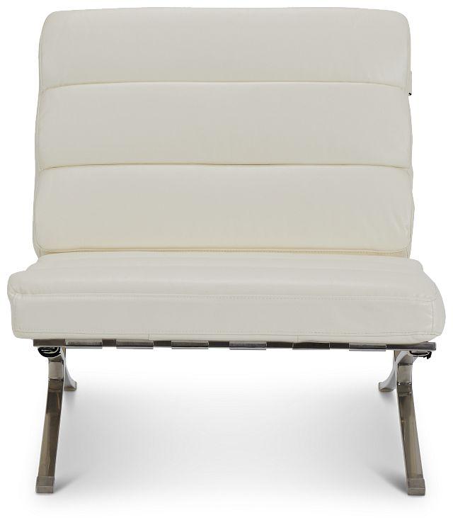 Tatiana White Micro Accent Chair (3)