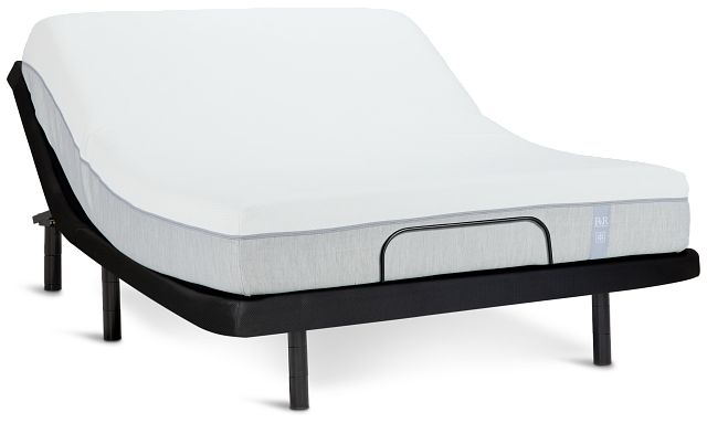 "Rest & Renew Memory Foam 10"" Bronze Adjustable Mattress Set (0)"