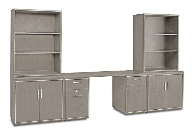 Highline Gray Door Wall Desk (0)