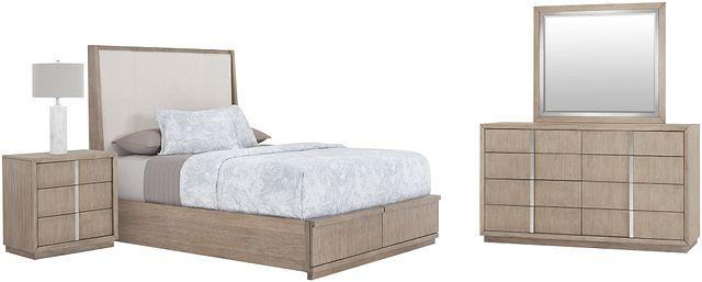 Gramercy Light Tone Uph Platform Storage Bedroom (3)