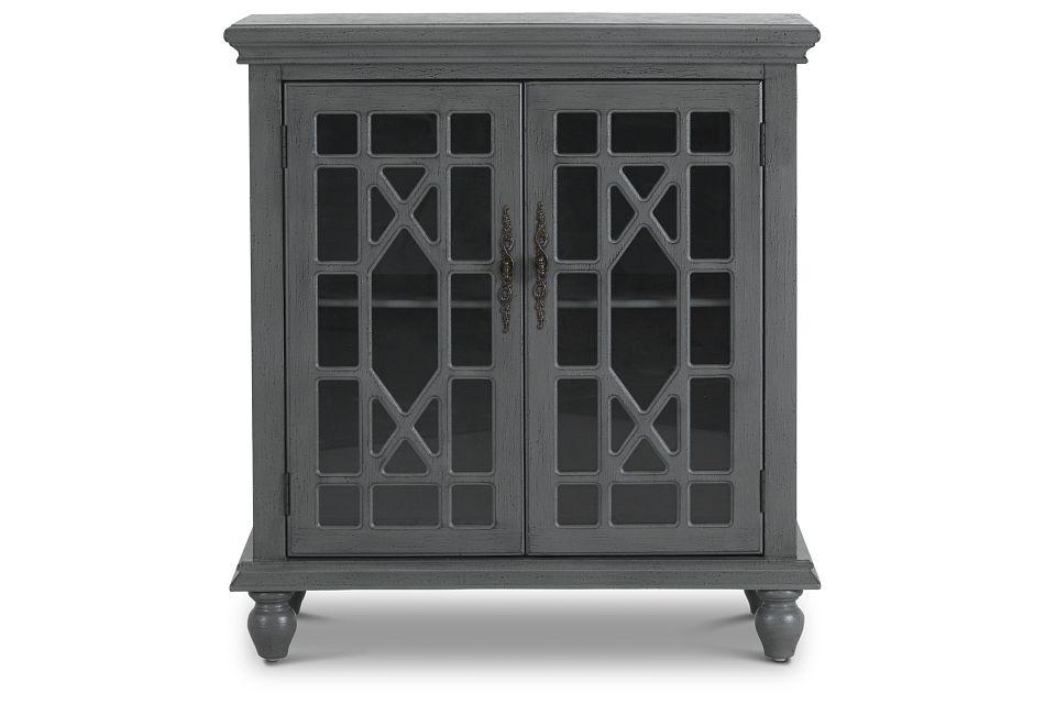 Alexis Gray Two-door Cabinet