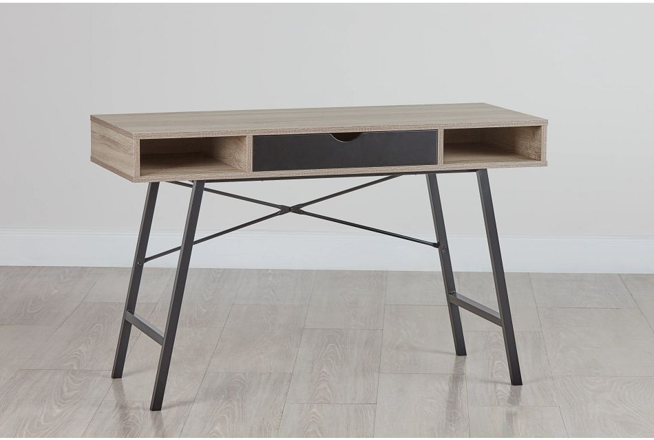 Dallas Black Two-tone Desk,  (0)