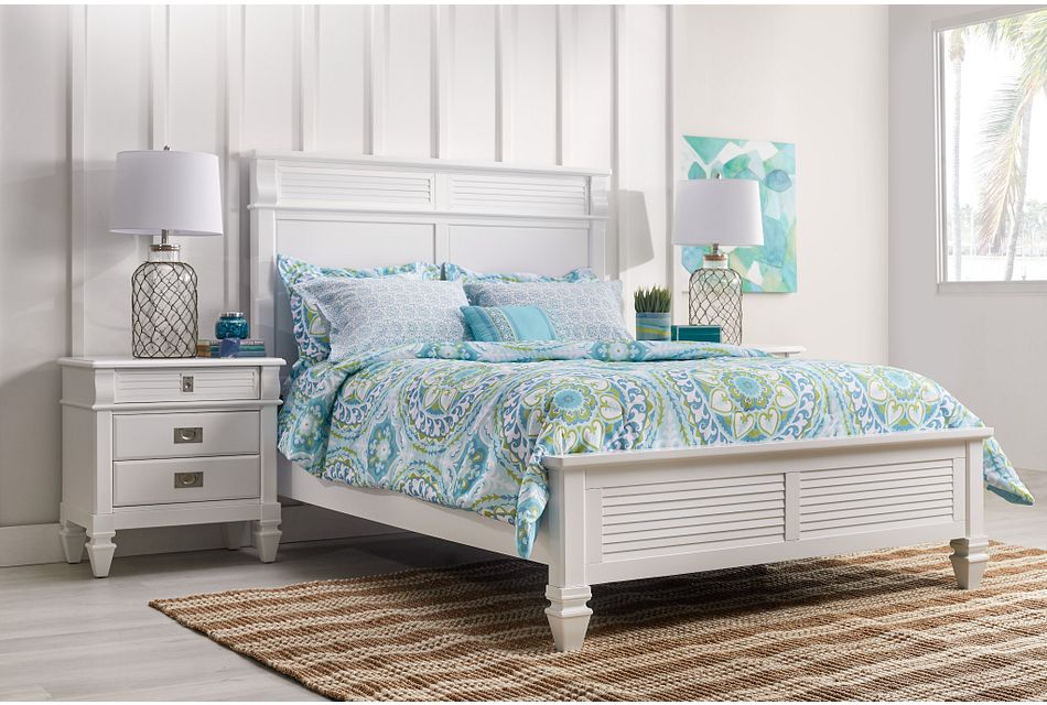 Marina White Nightstand