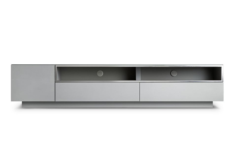 """Vancouver Gray 86"""" Tv Stand"""