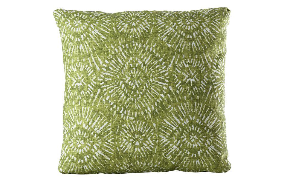 """Borneo GREEN 20"""" Indoor/Outdoor Accent Pillow,  (0)"""