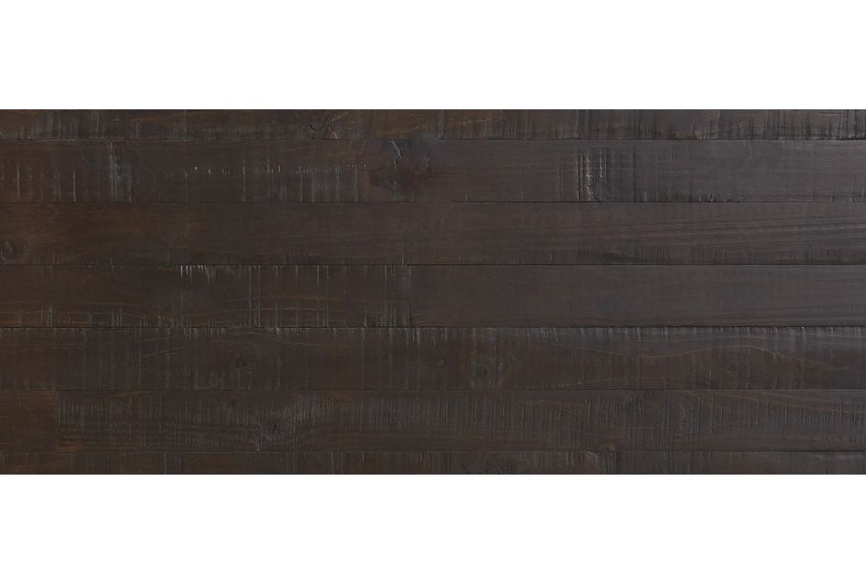 Seattle Dark Tone Wood Platform Bed